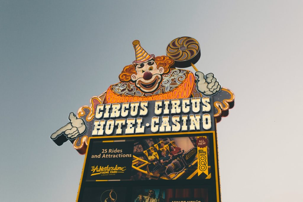 Circus Circus - Ultimate List of Things To Do In Las Vegas Other Than Gambling or Drinking - Travels With Elle