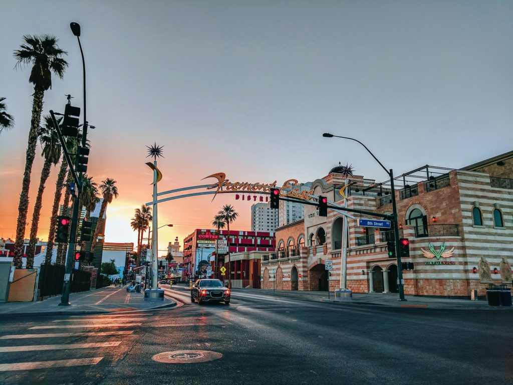 Fremont Street - Ultimate List of Things To Do In Las Vegas Other Than Gambling or Drinking - Travels With Elle