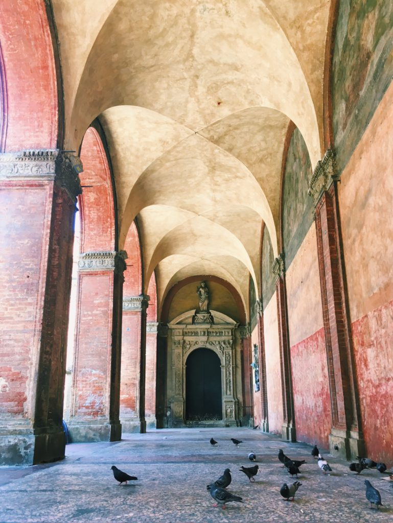 Porticos in Bologna - Best Things To Do In Bologna Italy - Travels With Elle