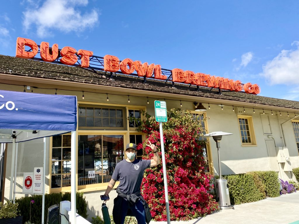 Dust Bowl Brewing Co - 32+ Exciting Things To Do In Monterey CA - TravelsWithElle