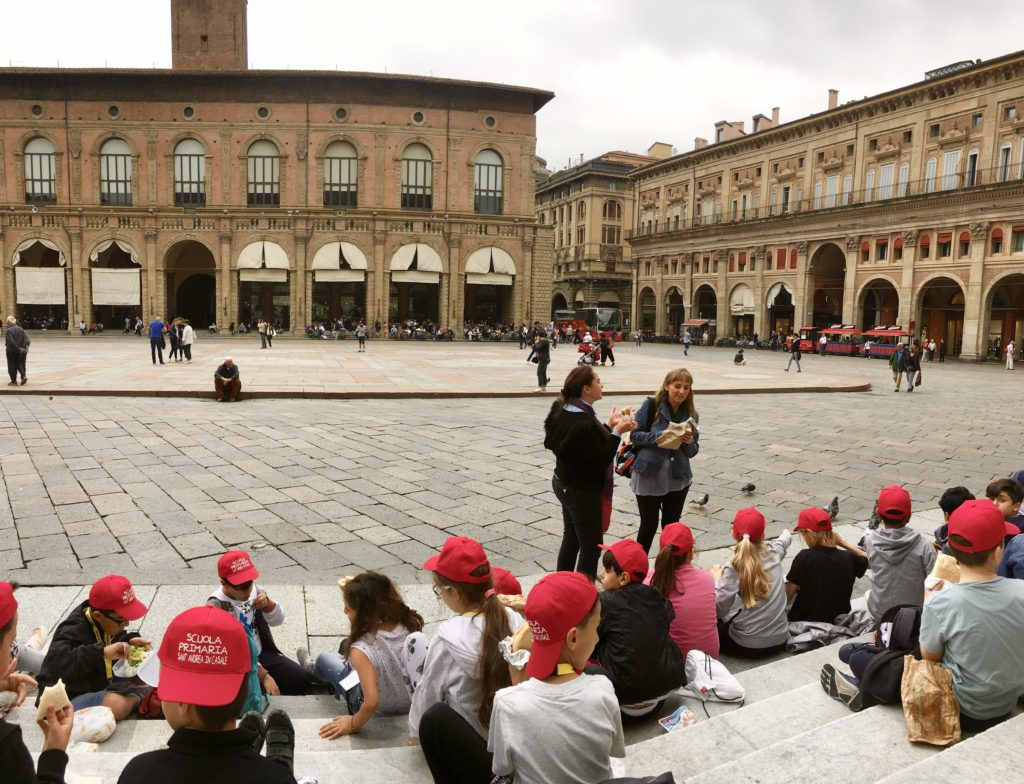 Piazza Maggiore: Bologna Italy Trip - Best Things To Do In Bologna Italy - Travels With Elle
