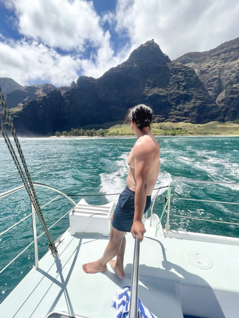 Holo Holo Charters Na Pali Coast Snorkel and Sail Tour Review - TravelsWithElle