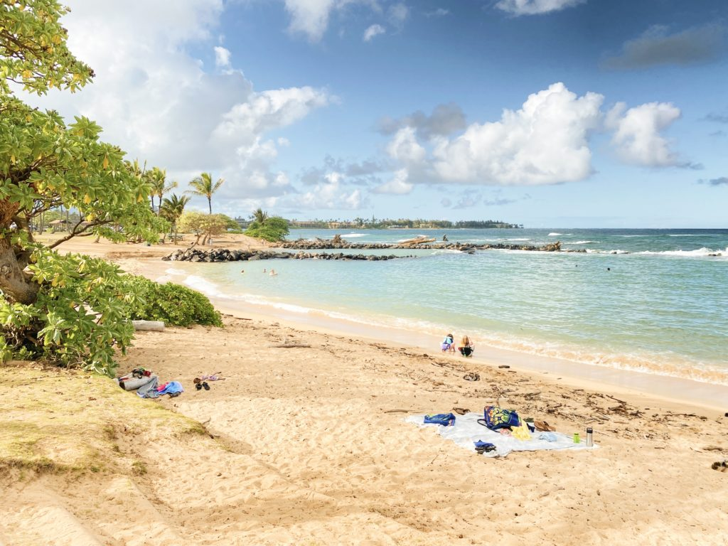 Lydgate Beach Park - The Perfect 7-Day Kauai Itinerary - TravelsWithElle