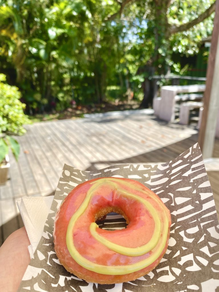 Holey Grail Taro Donuts - Hanalei Town - Best Things To Do In Hanalei Kauai - TravelsWithElle
