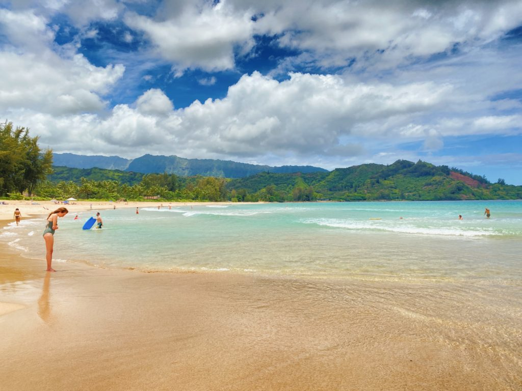 Hanalei Beach - The Perfect 7-Day Kauai Itinerary - TravelsWithElle