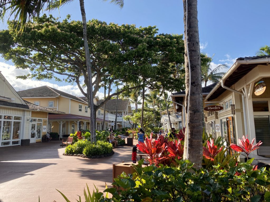 Poipu Shopping Village - The Perfect 7-Day Kauai Itinerary - TravelsWithElle