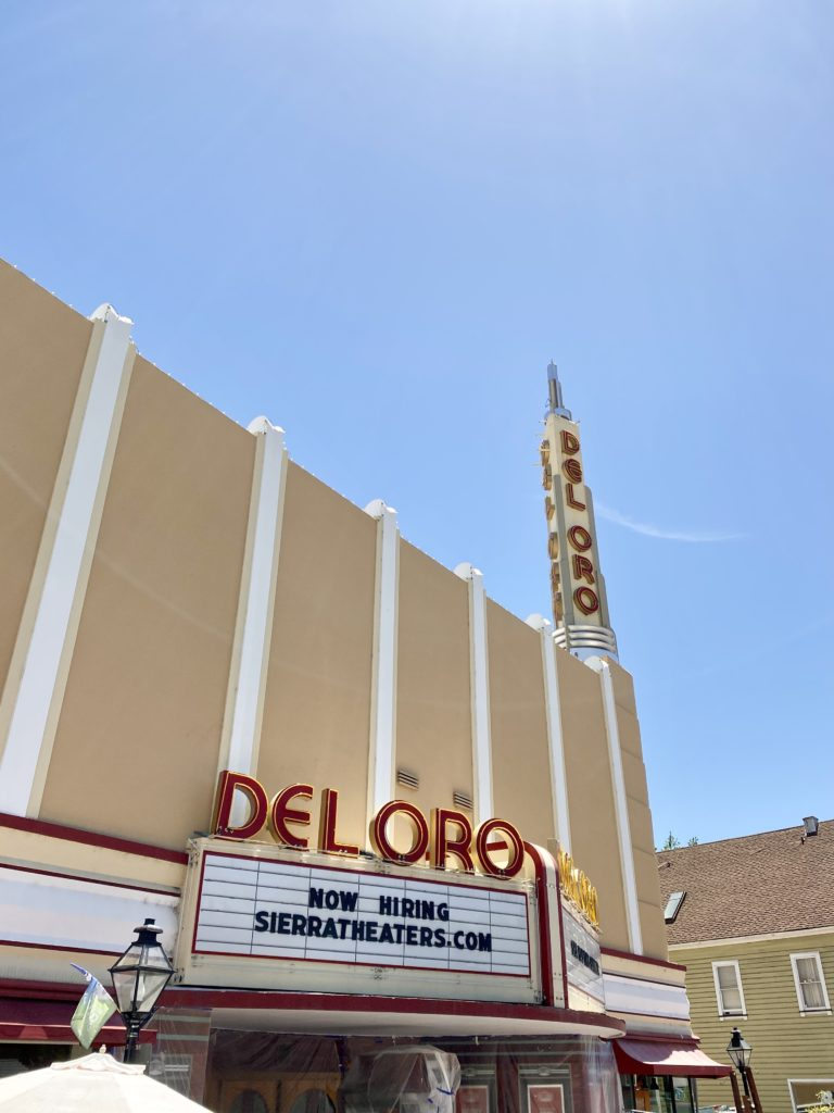 Del Oro Theater - Grass Valley CA - Lake Tahoe Road Trip From SF - TravelsWithElle