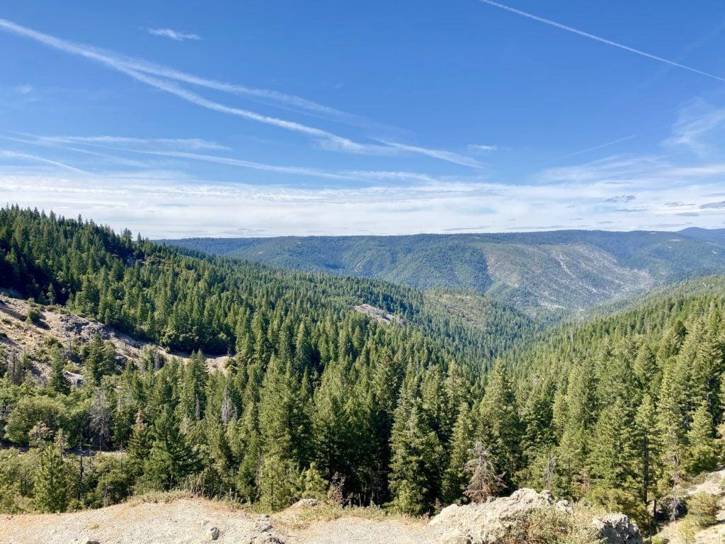 Tahoe Road Trip Views - SF To Lake Tahoe Reno Road Trip Stops - TravelsWithElle