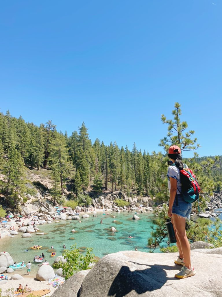 Secret Cove - Lake Tahoe Road Trip Stops From SF - TravelsWithElle