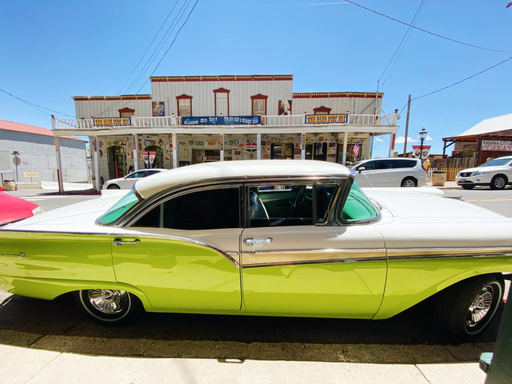 C Street Virginia City - SF To Lake Tahoe Road Trip - TravelsWithElle