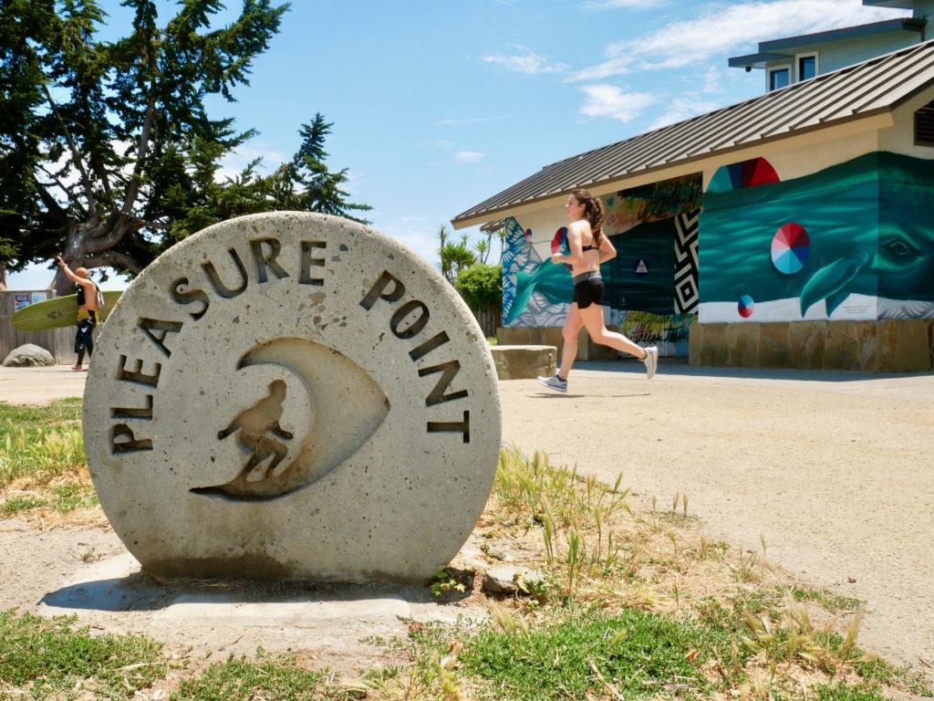 Pleasure Point Santa Cruz, CA - SF To Santa Cruz Road Trip - TravelsWithElle