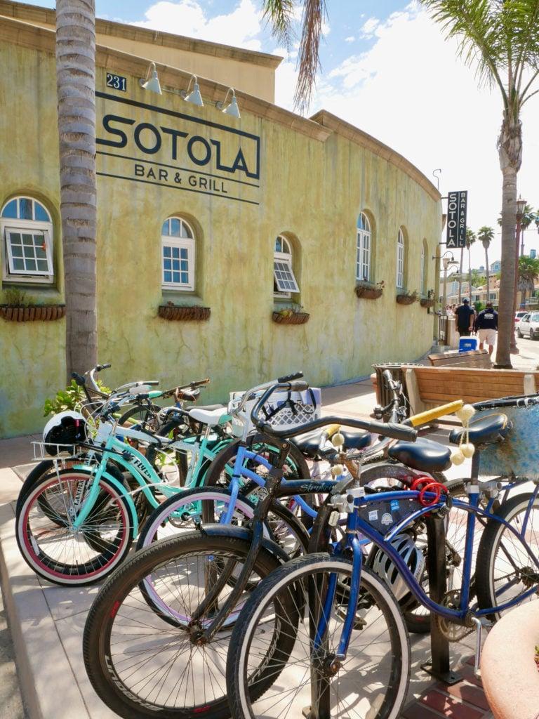 Bikes in Capitola, CA - San Francisco To Santa Cruz Road Trip - TravelswithElle