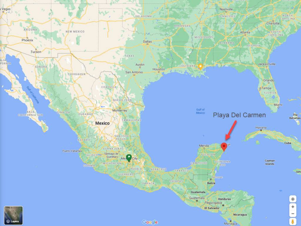 Playa Del Carmen Maps - TravelsWithElle