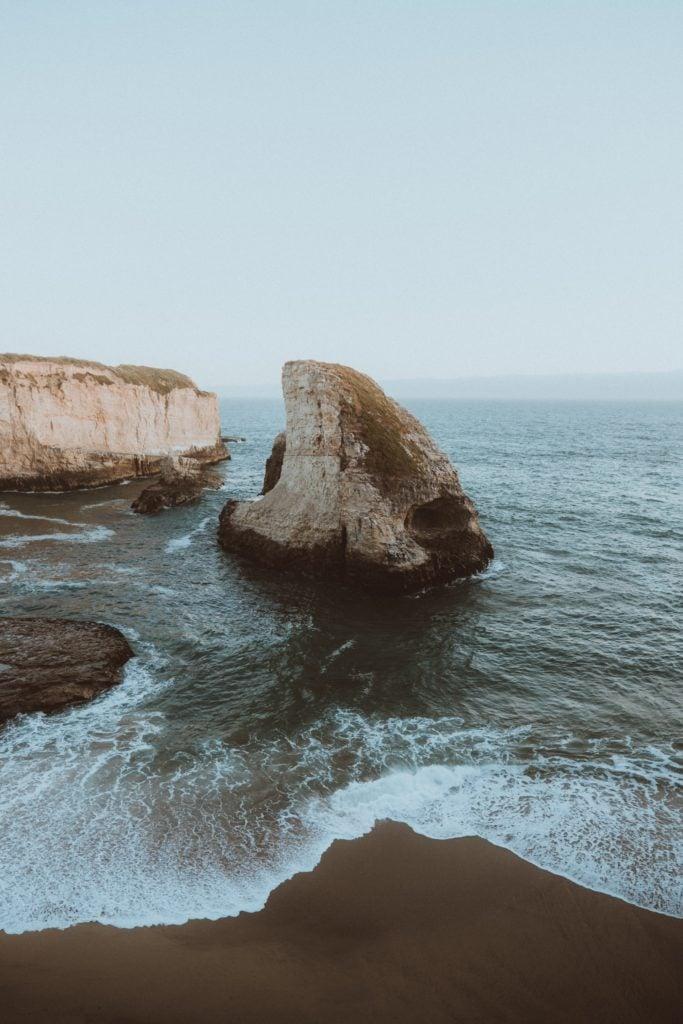 Shark Fin Cove - San Francisco To Santa Cruz Road