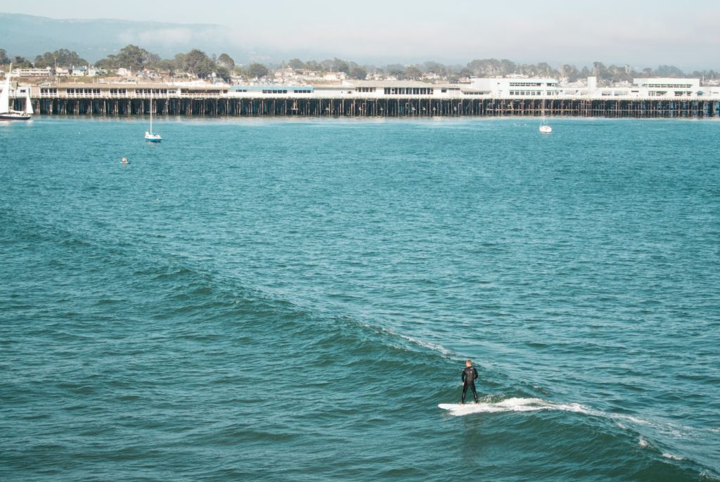 Surfing in Santa Cruz CA- San Francisco To Santa Cruz Road