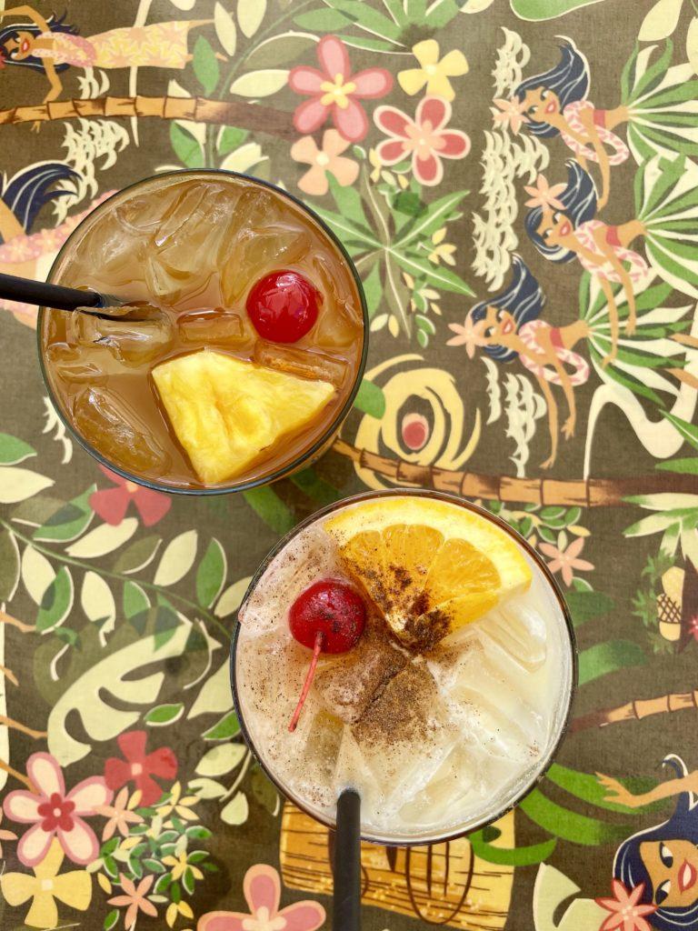 Hula's Island Grill Santa Cruz Tiki Drinks - Travels With Elle