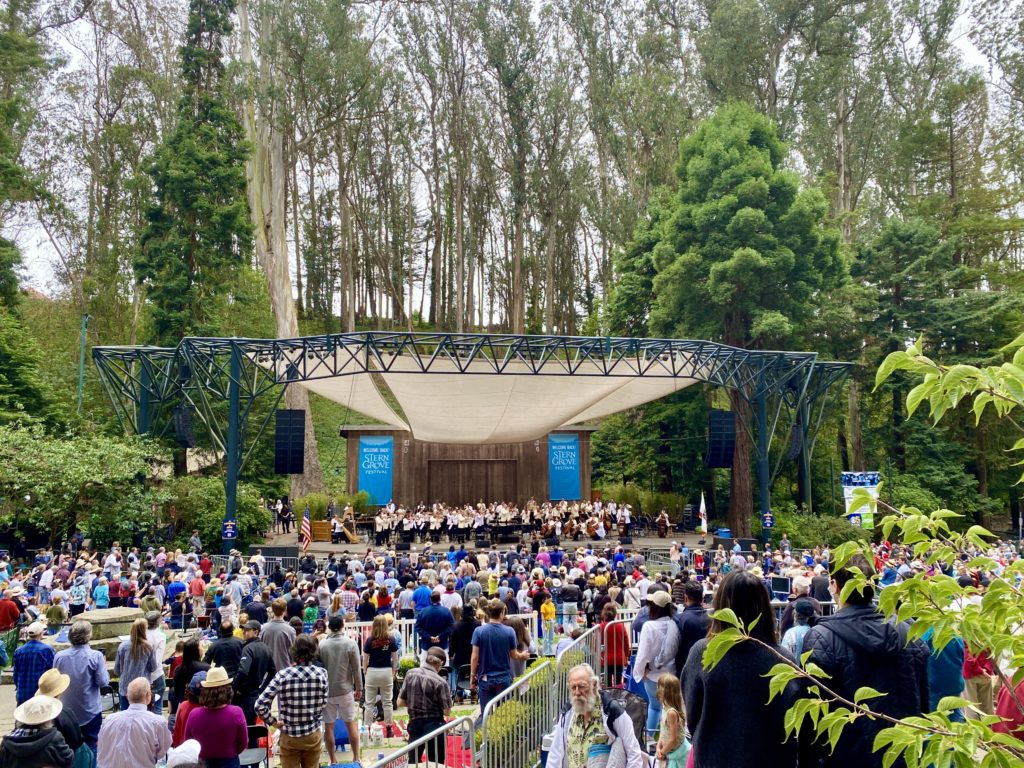 Stern Grove Concert - Free Things To Do In San Francisco, CA - TravelsWithElle