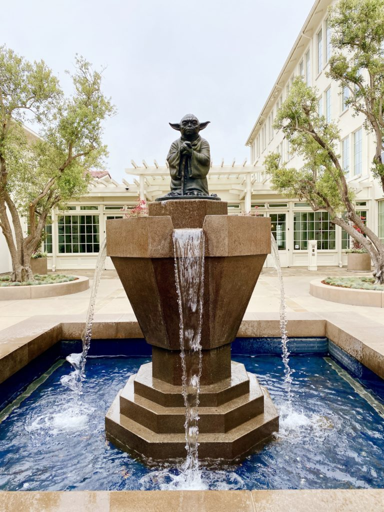 Yoda Fountain San Francisco - Free Things To Do In San Francisco CA - TravelsWithElle