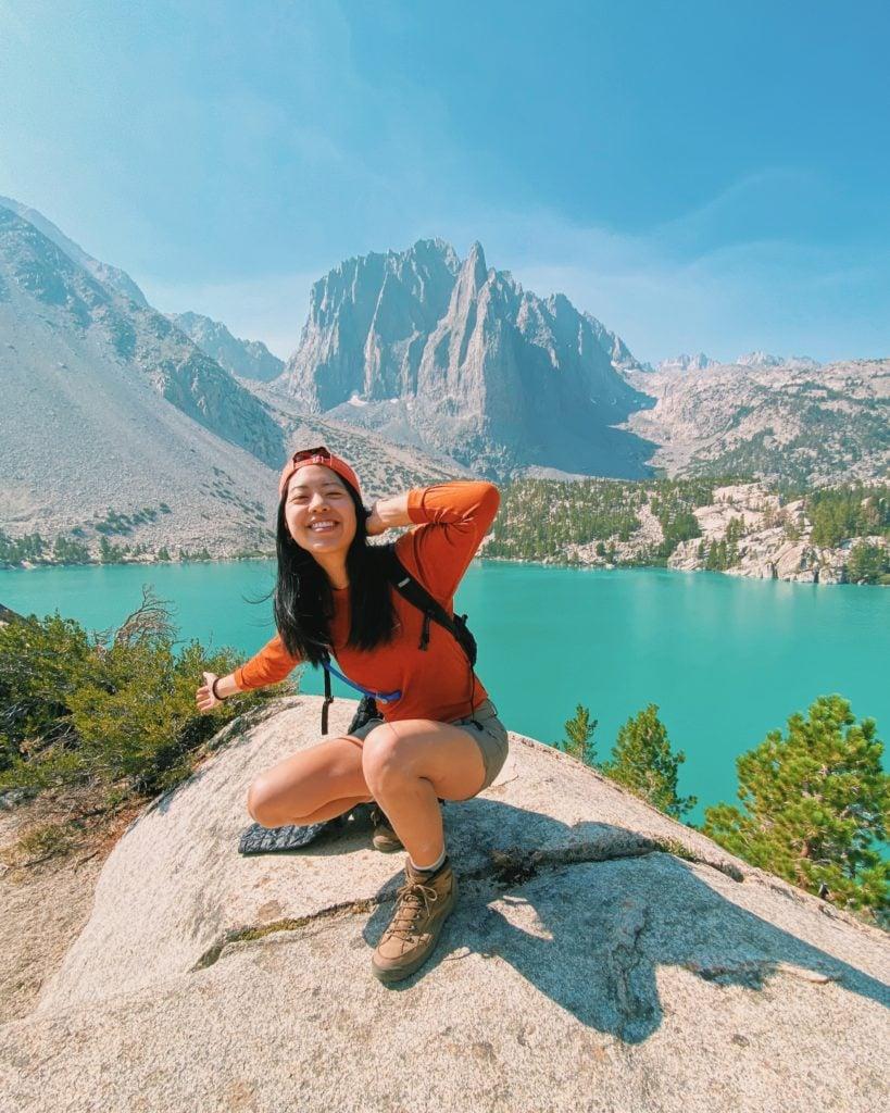 Big Pine Lakes Hike - Eastern Sierra California Road Trip - TravelsWithElle
