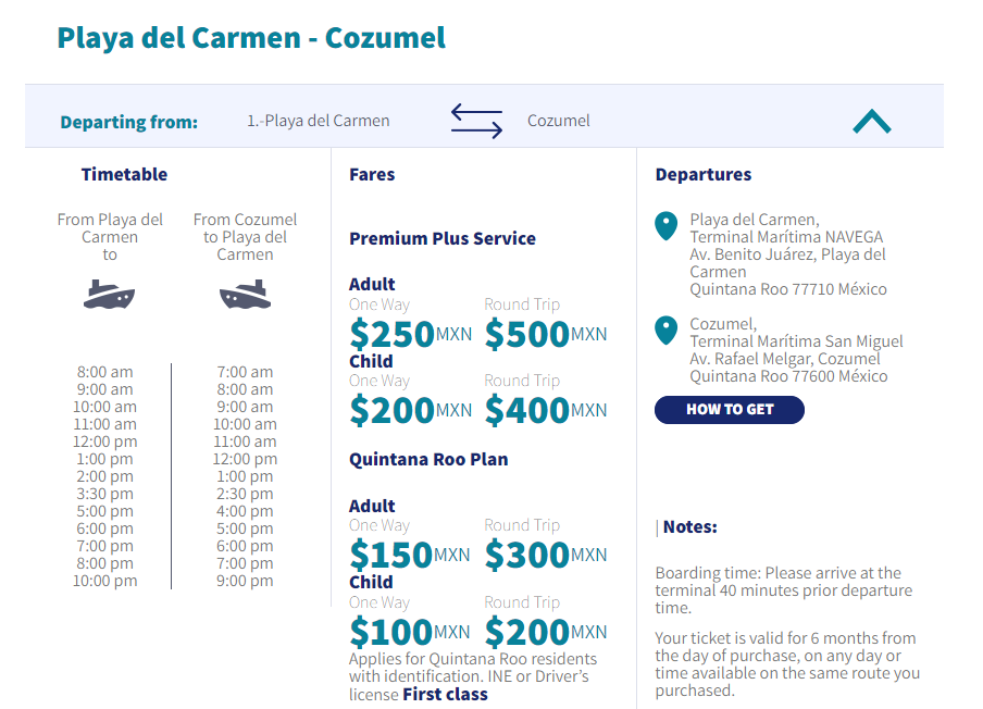 How To Get To Cozumel by Ferry - Travels With Elle