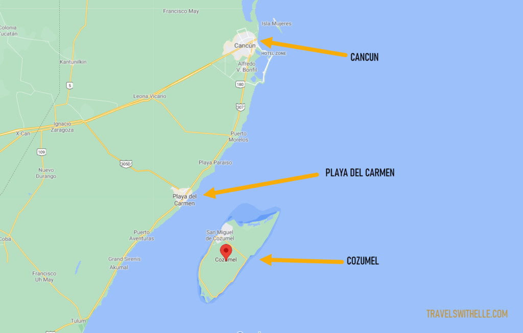 How To Get To Isla Cozumel - Travels With Elle