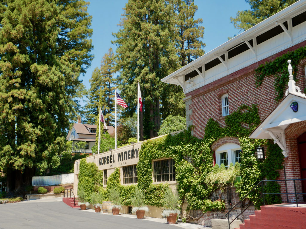 Korbel Winery Guerneville, CA - Best Things To Do In Sonoma County, CA - Travels With Elle