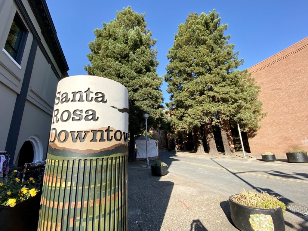 Downtown Santa Rosa, CA - Best Things To Do In Sonoma County, CA - Travels With Elle
