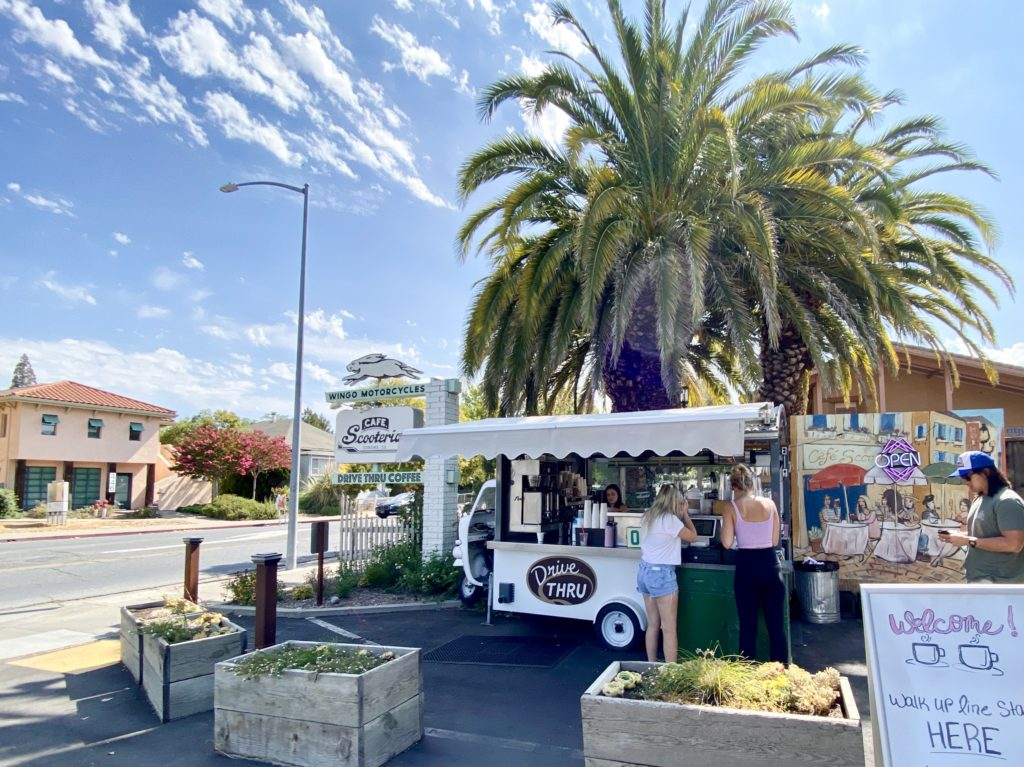 Cafe Scooteria - Best Things To Do In Sonoma, CA - Travels With Elle