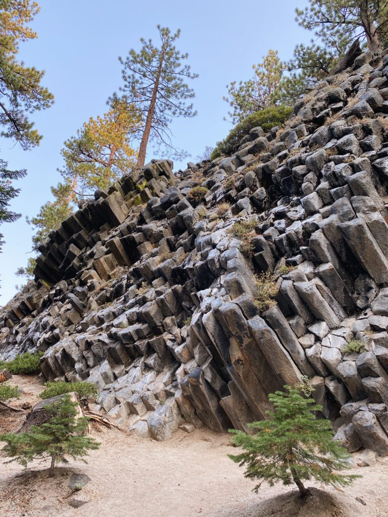 Devils Postpile National Monument - Things To Do In Mammoth Lakes - TravelsWithElle