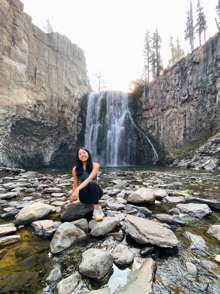 Rainbow Falls Mammoth Lakes, CA - Eastern Sierra California Road Trip - TravelsWithElle
