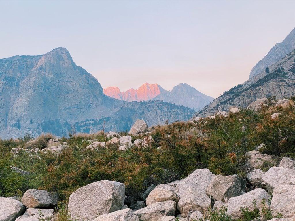 Big Pine Lakes Hike Sunrise - Travels With Elle