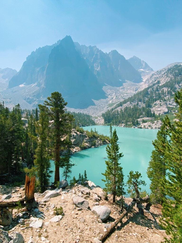 Big Pine Lakes Hike Lake 1 - Eastern Sierra California Road Trip - TravelsWithElle