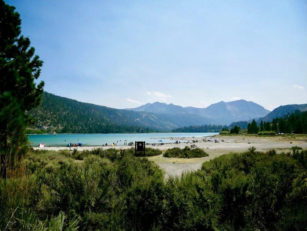June Lake - Eastern Sierra Road Trip Stops - TravelsWithElle