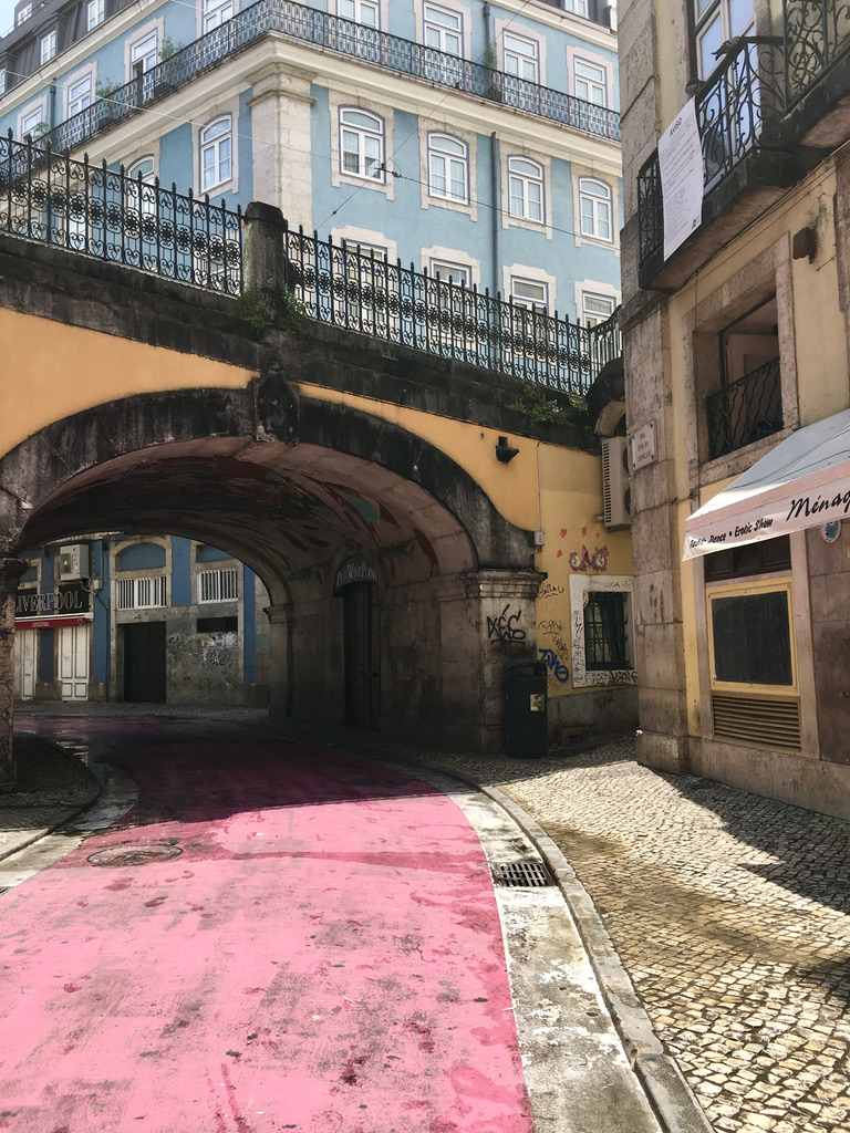 Pink Street Nightlife - Best Things To Do In Lisbon, Portugal - TravelsWithElle