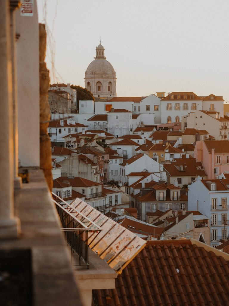 Alfama District Lisbon Portugal - TravelsWithElle