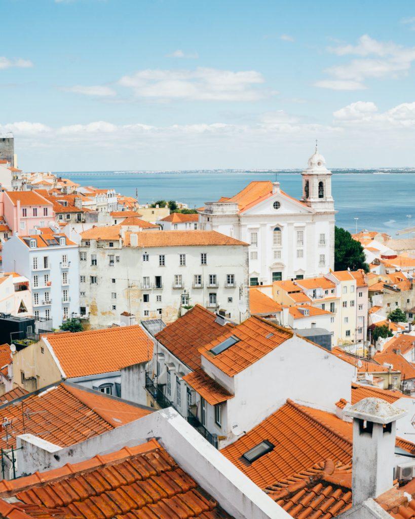 Alfama Neighborhood Lisbon Portugal - TravelsWithElle