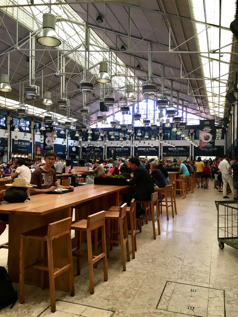 Time Out Market - Best Things To Do In Lisboa Portugal - TravelsWithElle