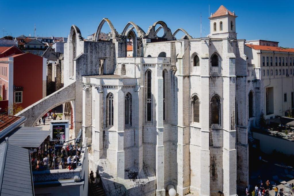 Carmo Convent - 3 Day Lisbon Itinerary