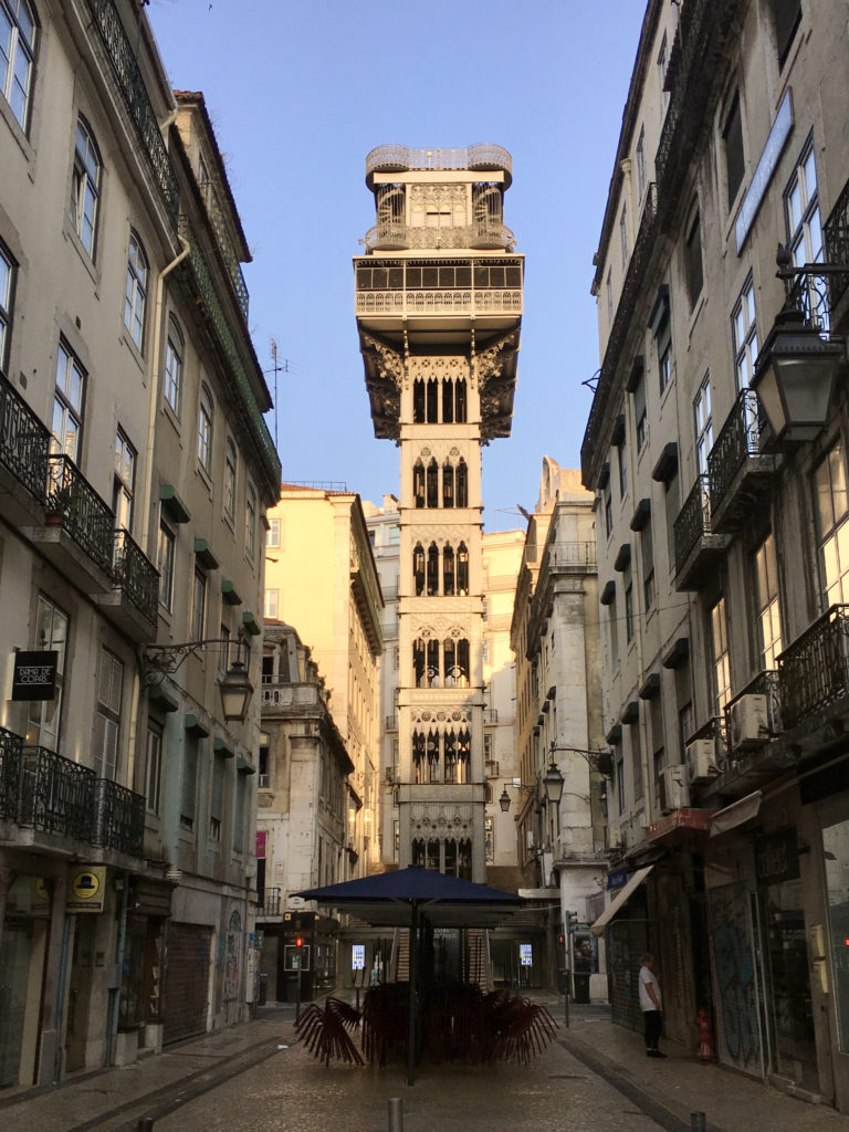 Elevador de Santa Justa - Best Things To Do In Lisboa Portugal - TravelsWithElle
