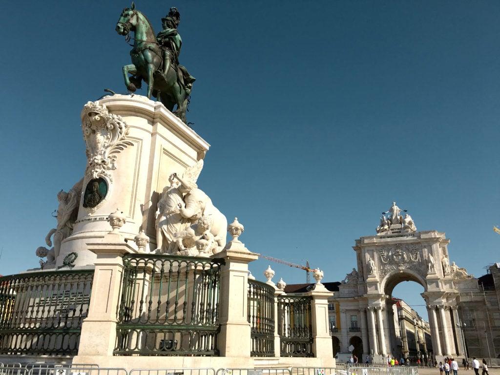 Baixa Neighborhood - Best Things To Do In Lisboa Portugal - TravelsWithElle