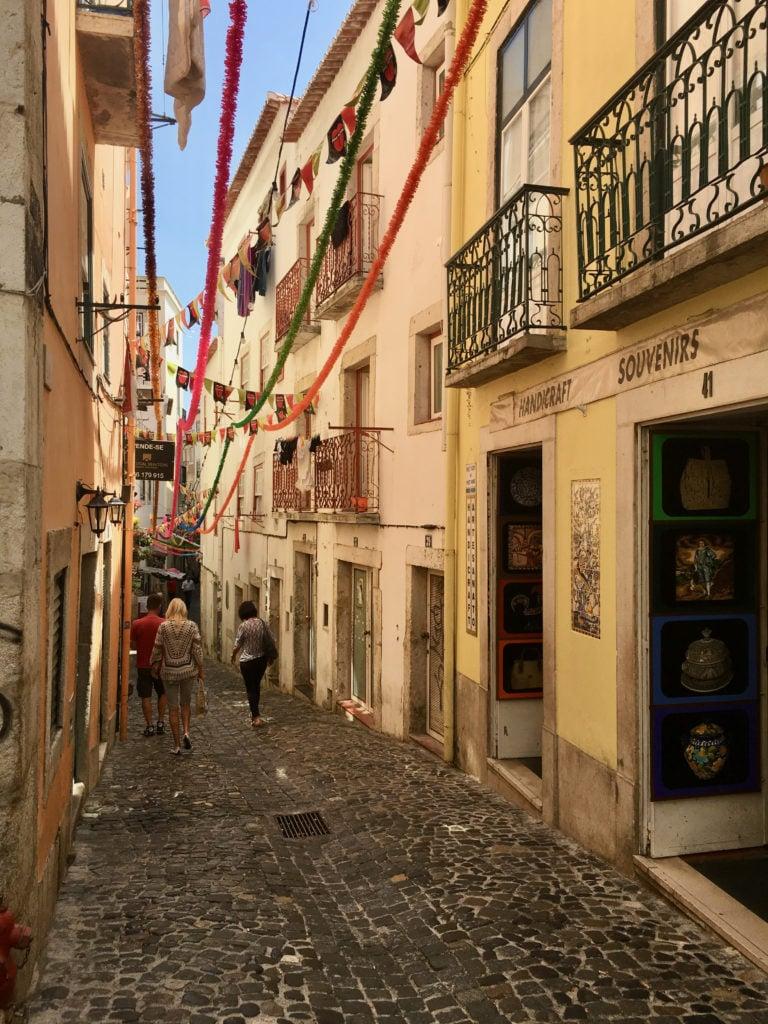 Alfama Neighborhood - Best Things To Do In Lisbon - TravelsWithElle