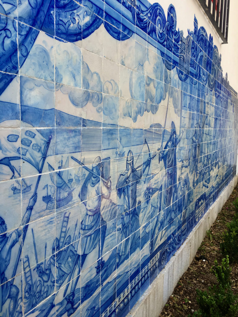 Tilework in Lisbon, Portugal - TravelsWithElle