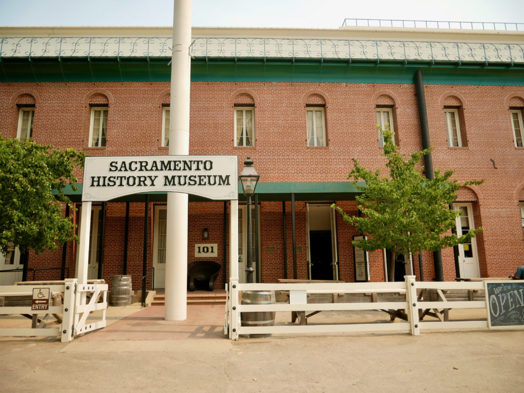 Sacramento History Museum - Best Things To Do In Old Town Sacramento - TravelsWithElle