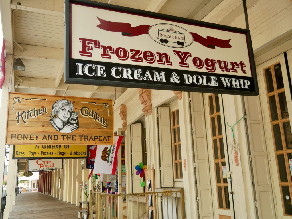 Old Fashioned Ice Cream - Best Things To Do In Old Town Sacramento - TravelsWithElle