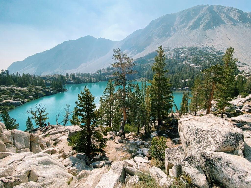 Big Pine Lake 1 - Big Pine Lakes Hike - TravelsWithElle