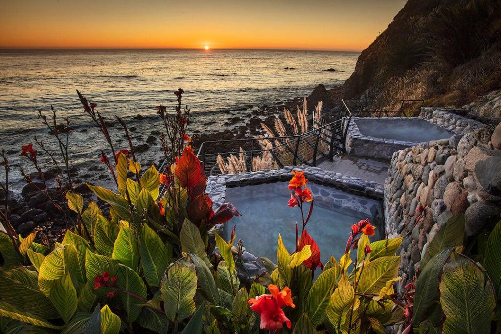 Esalen Hot Springs Big Sur CA