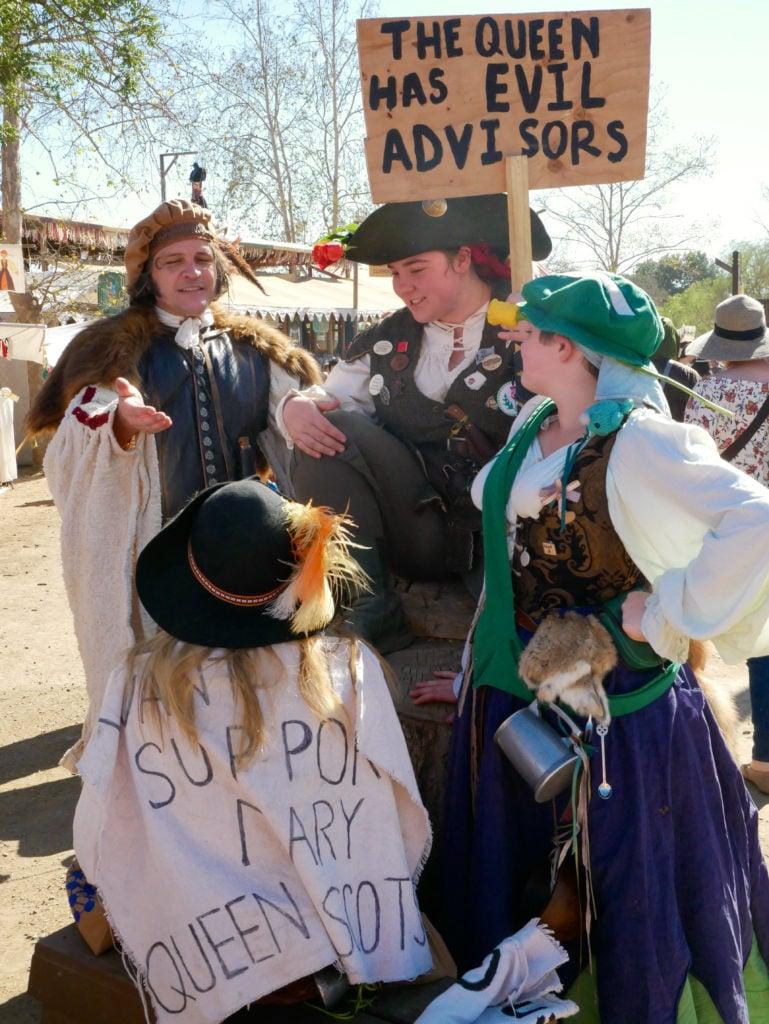 Northern California Renaissance Faire - Renaissance Fair Costume