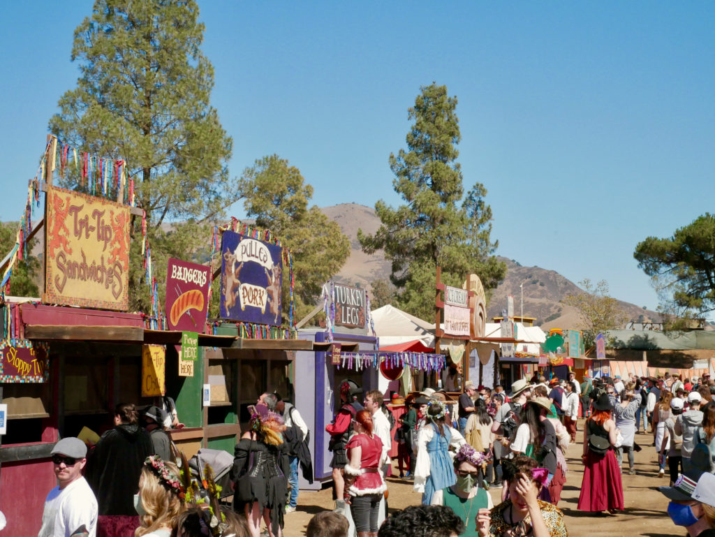 Northern California Renaissance Faire - What To Eat